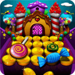 Candy Donuts Coin Party Dozer for pc logo
