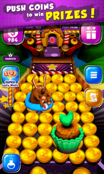 Candy Donuts Coin Party Dozer pc screenshot 1