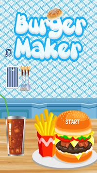 My Fun Burger Maker Cooking Game pc screenshot 1