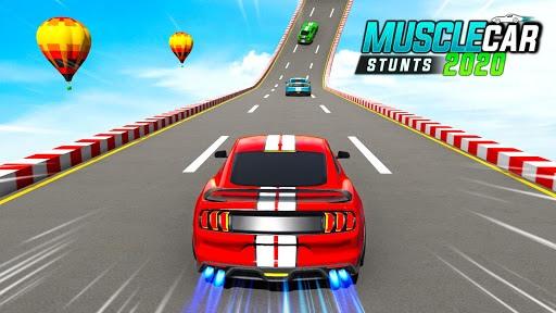 Muscle Car Stunts 2020: Mega Ramp Stunt Car Games pc screenshot 1
