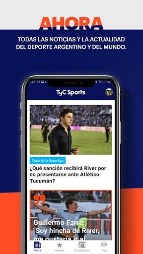 TyC Sports PC screenshot 1