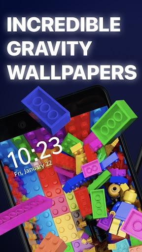 Gravity - Live wallpapers 3D pc screenshot 1