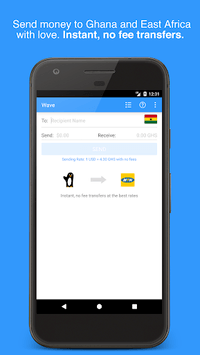 Wave—Send Money to Africa pc screenshot 1