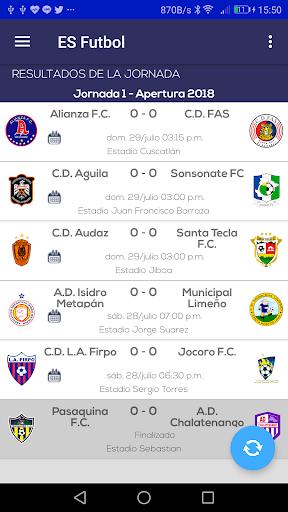 El Salvador Fútbol PC screenshot 1