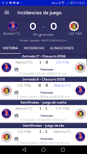 El Salvador Fútbol PC screenshot 3