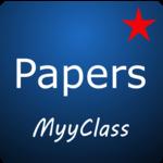 MyyClass Exam/Test Paper Generator app CBSE GSEB for pc logo