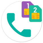 Dual Sim Dialer and Widget icon