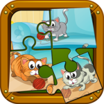 Pets Puzzle Games For Kids icon