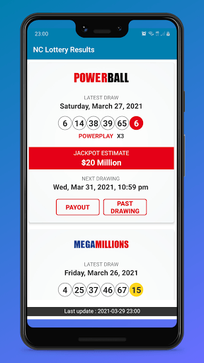 NC Lottery Results PC screenshot 1