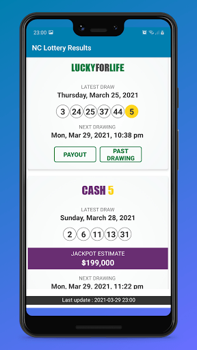 NC Lottery Results PC screenshot 2