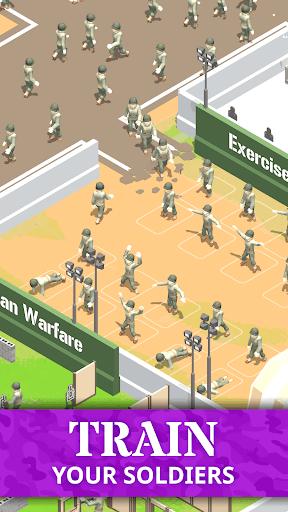 Idle Army Base: Tycoon Game PC screenshot 2