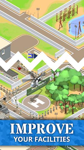 Idle Army Base: Tycoon Game PC screenshot 3