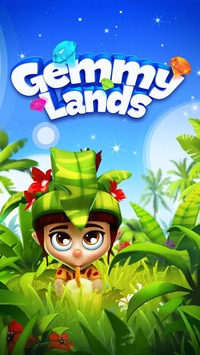 Gemmy Lands - Match-3 Games pc screenshot 1