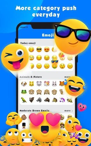 New Emoji 2020 - Wallpaper&GIF&Sticker for FREE PC screenshot 1
