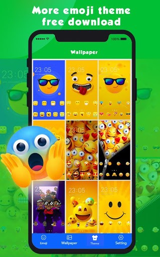 New Emoji 2020 - Wallpaper&GIF&Sticker for FREE PC screenshot 3