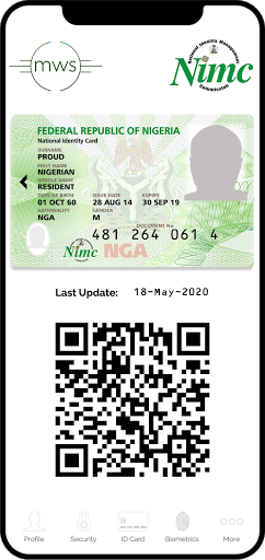 MWS: NIMC MobileID pc screenshot 1