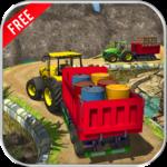 Offroad Cargo Tractor Simulator 3d: Farming Drive icon