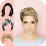 Hair Style Color Changer Women icon
