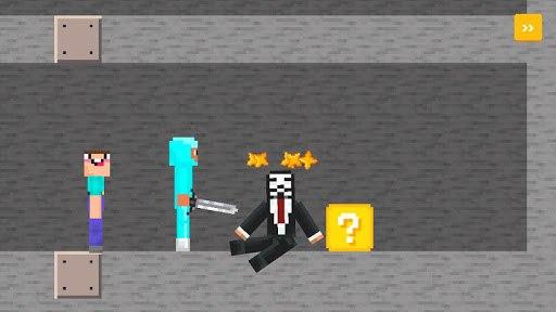 Noob vs Pro vs Hacker 4: Lucky Block PC screenshot 2