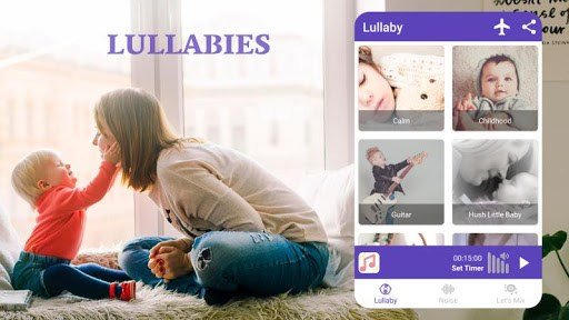 Baby Sleep White Noise & Lullaby by Lullin PC screenshot 2