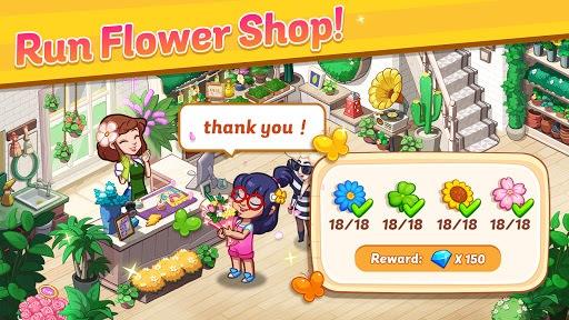 Ohana Island - Design Flower Shop & Blast Puzzle PC screenshot 1