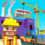 New Industrial City Craft Building Game for pc logo