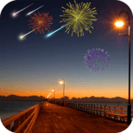 Meteor Shower FireWorks icon