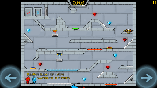 Fireboy & Watergirl in The Ice Temple pc screenshot 1