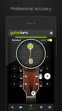 Guitar Tuner Free - GuitarTuna pc screenshot 2