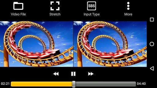 iPlay VR Player for SBS 3D Video pc screenshot 1