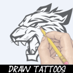 Learn How To Draw Tattoo icon