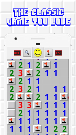 Minesweeper for Android - Free Mines Landmine Game PC screenshot 1
