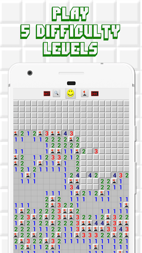 Minesweeper for Android - Free Mines Landmine Game PC screenshot 2