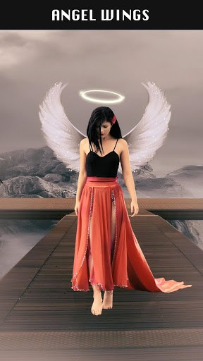 Wings for Photos: Angel Wings Photo Editor PC screenshot 2