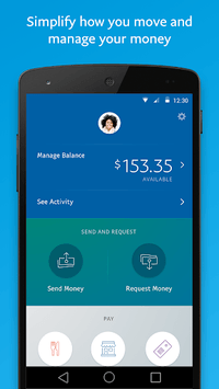 PayPal Mobile Cash: Send and Request Money Fast pc screenshot 1