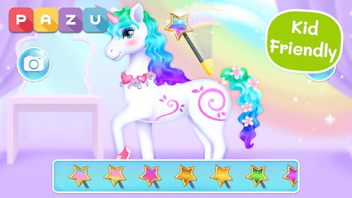 My Unicorn dress up games for kids PC screenshot 1