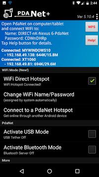 PdaNet+ PC screenshot 1