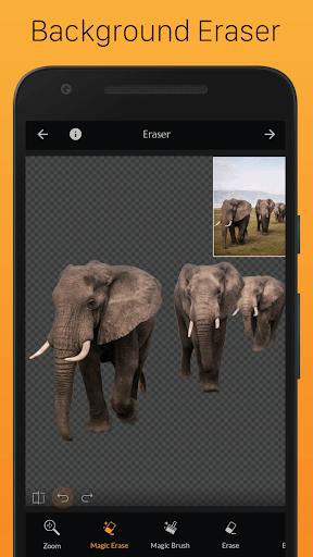 PhotoCut - Background Eraser & CutOut Photo Editor pc screenshot 1