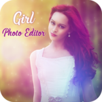 Girls Photo Editor – Girl Hair Style for pc logo