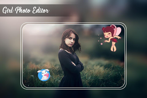 Girls Photo Editor – Girl Hair Style pc screenshot 1