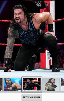 Roman Reigns Live Wallpaper pc screenshot 1