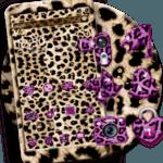 Pink Gold leopard Print Theme icon