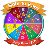 Spin to Win : Daily Earn 100$ icon