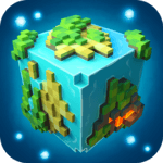 Planet of Cubes Survival Craft for pc logo