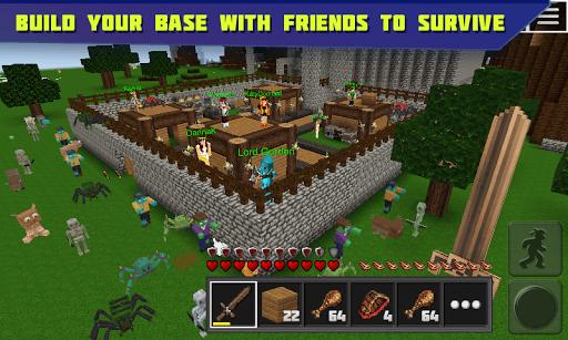 Planet of Cubes Survival Craft PC screenshot 1