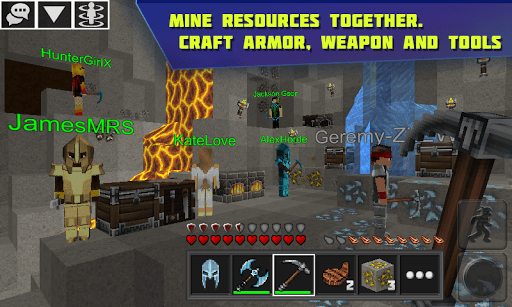 Planet of Cubes Survival Craft PC screenshot 3