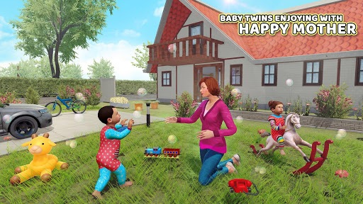Virtual Mother Baby Twins Family Simulator Games pc screenshot 1