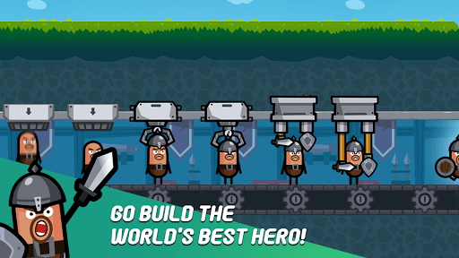 Hero Factory - Idle Factory Manager Tycoon PC screenshot 3