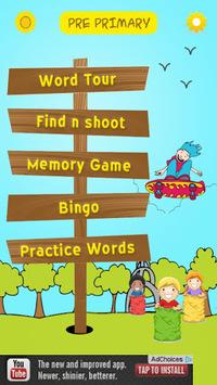 Sight Words with Word Bingo pc screenshot 1