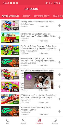 Play Tube pc screenshot 1